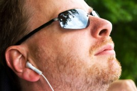 man-with-earbuds