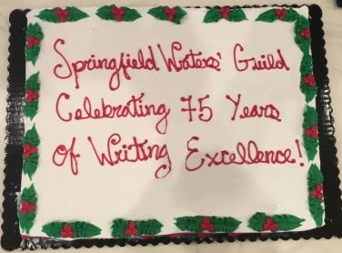 75th anniversary cake - Nov. 2018